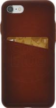 Senza Desire Leather CS iPhone 7/8 Back Cover Bruin