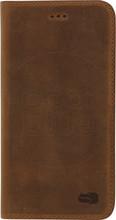 Senza Raw Leather iPhone 7/8 Book Case Bruin
