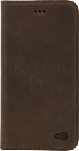 Senza Raw Leather iPhone 7/8 Book Case Donkerbruin