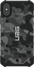UAG Pathfinder Camo Apple iPhone X Back Cover Zwart