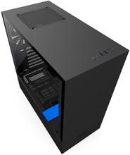 NZXT H500 Zwart/Blauw
