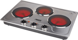 Princess Ceramic hot plate with 3 burners