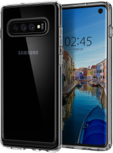 Spigen Ultra Hybrid Crystal Samsung Galaxy S10 Back Cover Tr