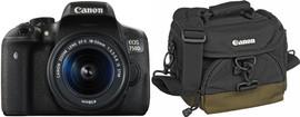 Canon EOS 750D + 18-55mm IS STM + Tas + 16GB + Doekje