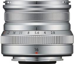 Fujifilm XF 16mm f/2.8 R WR Zilver