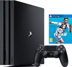 Sony PlayStation 4 Pro 1 TB Fifa 19 Bundel