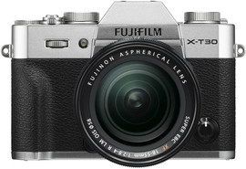 9b67dd9d321f52 FujiFilm X-T30 Zilver + XF 18-55mm f 2.8-4.0 R