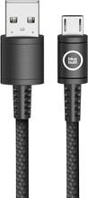 BlueBuilt Micro USB Kabel Nylon Zwart 1,5m