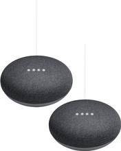 Google Home Mini Duo Pack Grijs