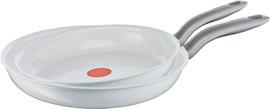Tefal Ceramic Control White Induction Koekenpanset 24 + 28cm