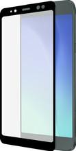 Azuri Gehard Glas Galaxy A8 (2018) Screenprotector Glas Zwar