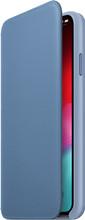 Apple iPhone Xs Max Leather Folio Korenbloemblauw