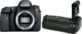 Canon EOS 6D Mark II + Jupio Battery Grip (BG-E21)