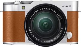 Fujifilm X-A3 + XC16-50mm F3.5-5.6 OIS II Kit - Camel