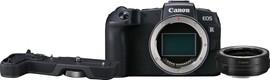 Canon EOS RP + EF-EOS R Adapter + EOS RP Grip (EG-E1)