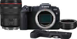 Canon EOS RP + Adapter + RF 24-105mm f/4L IS USM + Grip