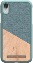Nordic Elements Frejr Apple iPhone Xr Back Cover Groen/Hout
