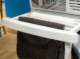 WPRO SKP101 Universele stapelkit met lade en droogrek