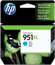 HP 951XL Officejet Ink Cartridge Cyaan
