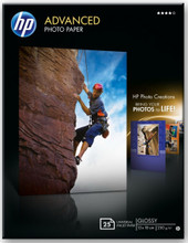 HP Advanced Glossy Fotopapier 25 vel (13 x 18)