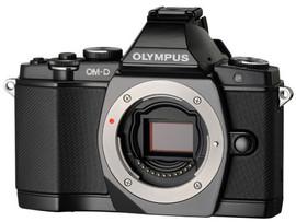 Olympus E-M5 zwart