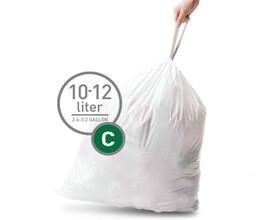 Simplehuman Afvalzak Code C - 10-12 Liter (20 stuks)