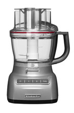 KitchenAid Foodprocessor Zilver