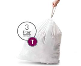 Simplehuman Afvalzak Code T 3 Liter (40 stuks)
