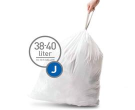 Simplehuman Afvalzak Code J - 38-40 Liter (20 stuks)