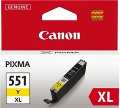 Canon CLI-551Y XL Inktcartridge Geel