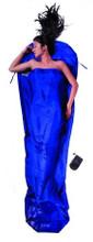 Cocoon Silk Mummy Liner Ultramarine Blue