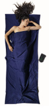 Cocoon Microfiber Travelsheet Twilight Blue