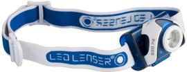 LED Lenser SEO7R Blauw