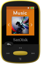 Sandisk Sansa Clip Sports 8GB geel