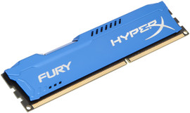 Kingston HyperX Fury 8 GB DIMM DDR3-1600 blauw