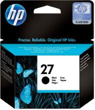 HP 27 Ink Cartridge Black (Zwart)
