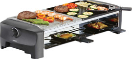 Princess Raclette 8 Stone & Grill Party