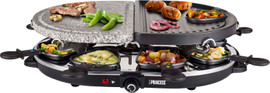 Princess Raclette 8 Oval Stone & Grill Party