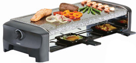 Princess Raclette 8 Stone Grill Party