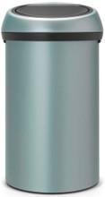 Brabantia Touch Bin 60 Liter Metallic Mint