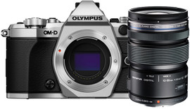 Olympus OM-D E-M5 II zilver + 12-50mm EZ