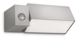 Philips Ecomoods Border Wandlamp Grijs met bewegingssensor