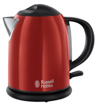 Russell Hobbs Colours Flame Red Compact Waterkoker