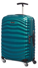 Samsonite Lite-Shock Spinner 55 cm Petrol Blue