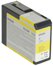 Epson T580400 Yellow Ink Cartridge (geel)