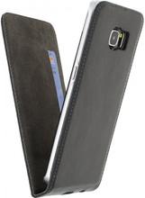 Mobilize Magnet Flip Card Case Samsung Galaxy S6 Edge Zwart