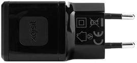 Xqisit Thuislader USB 2,4Ah Zwart