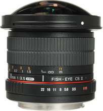Samyang 8mm f/3.5 Fisheye MC CSII Canon