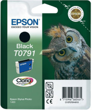 Epson T0791 Ink Cartridge Black (zwart)