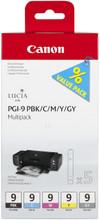 Canon PGI-9 Multi-Pack 1 (PBK/C/M/Y/GY)
